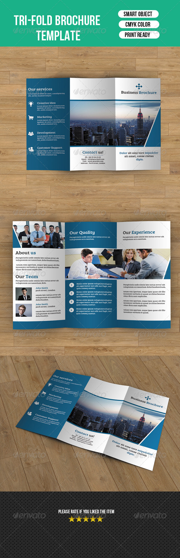Trifold Business Brochure-V40