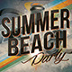 Summer Beach Party Flyer Vol.2 - GraphicRiver Item for Sale