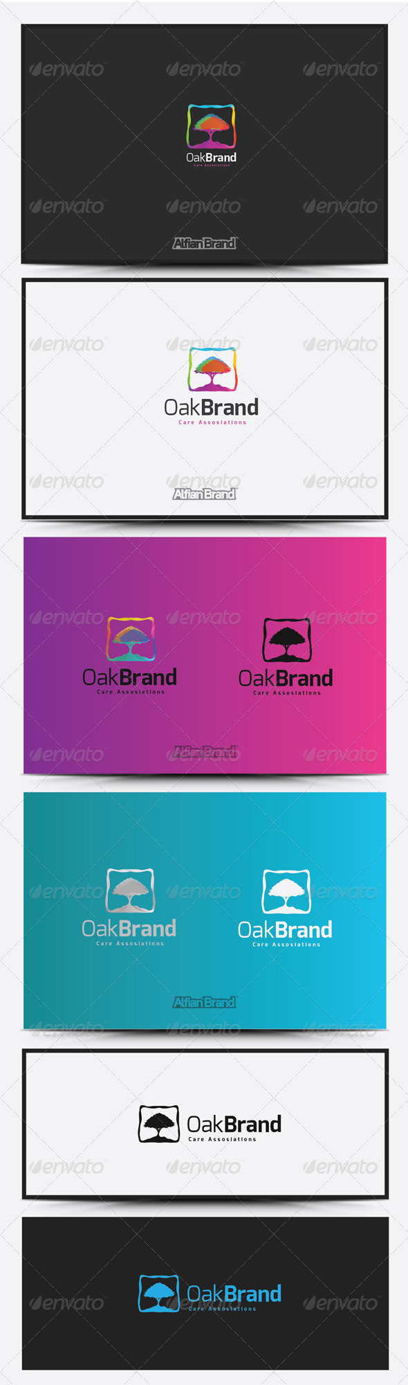 GraphicRiver Oak Brand Logo 8418492