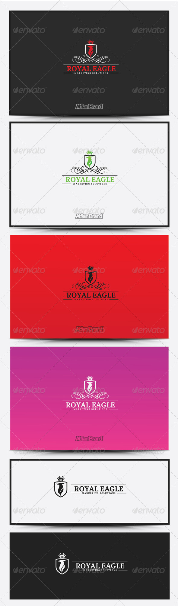 GraphicRiver Royal Eagle Logo 8418724