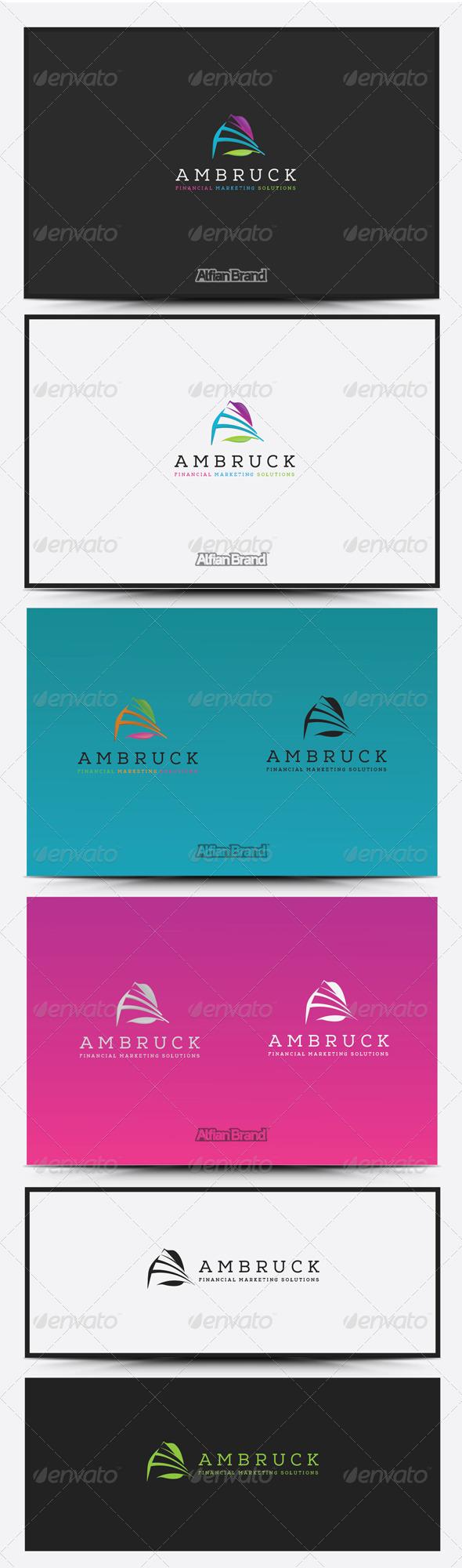 GraphicRiver A Letter Logo 8418865