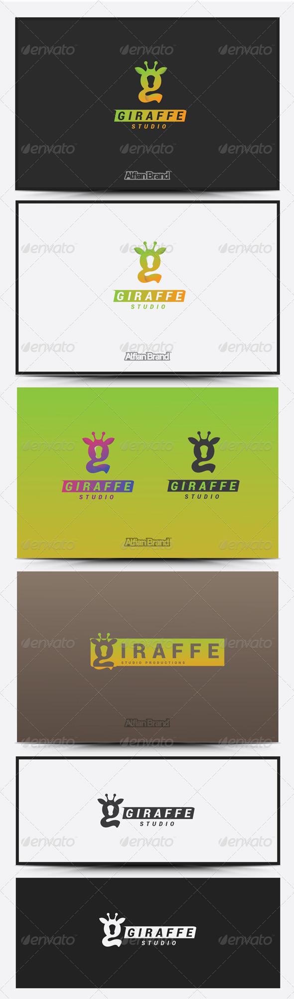 GraphicRiver Giraffe Logo 8418950
