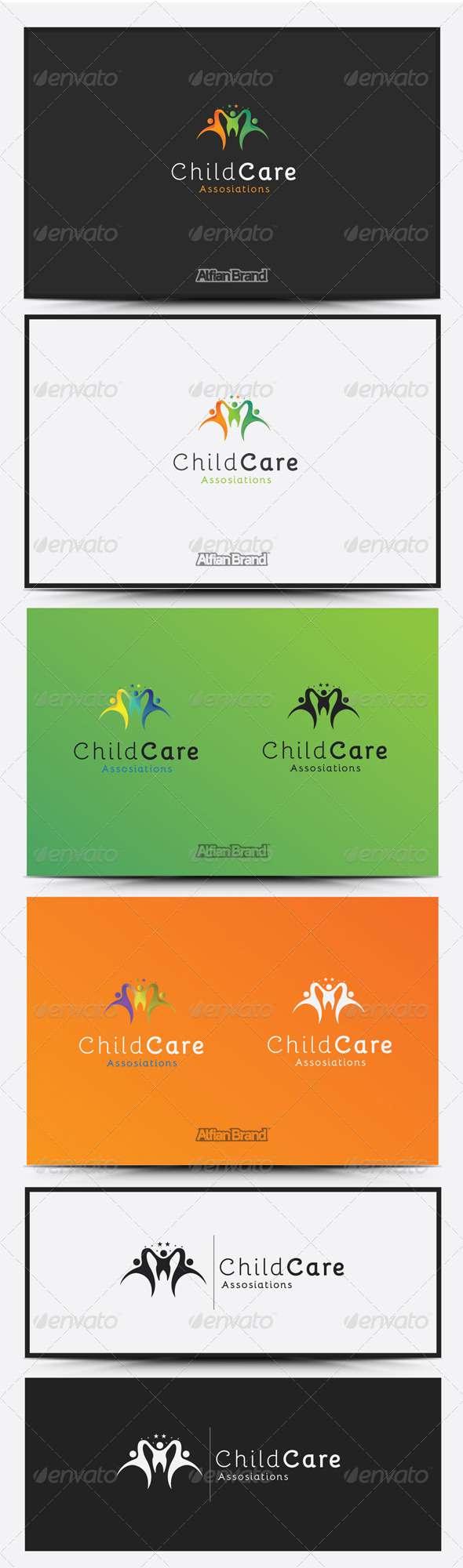GraphicRiver Child Care Logo 8419013
