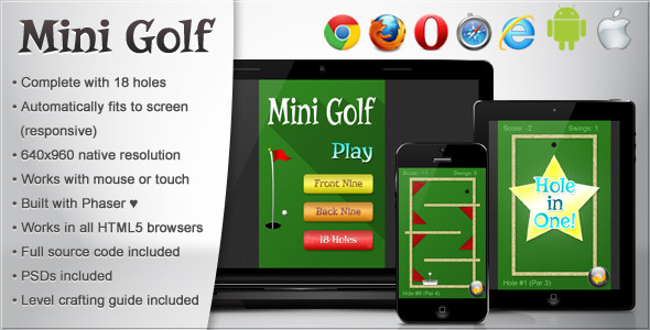 CodeCanyon Mini Golf 8419191