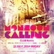 Monsoon Calling Party Flyer