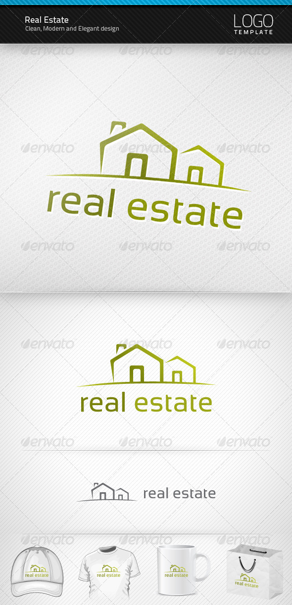 Real Estate Logo - Objects Logo Templates