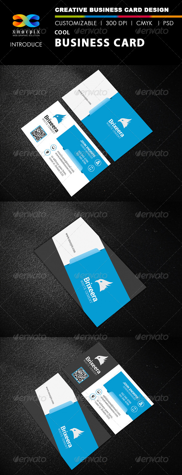 GraphicRiver Cool Business Card 8422249