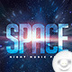 Flyer Space Music Night - GraphicRiver Item for Sale