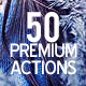 50 Premium Actions V3 - GraphicRiver Item for Sale