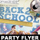 Back to School Party Flyer Template 4 - GraphicRiver Item for Sale