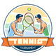 Emblem of Tennis Tournament - GraphicRiver Item for Sale