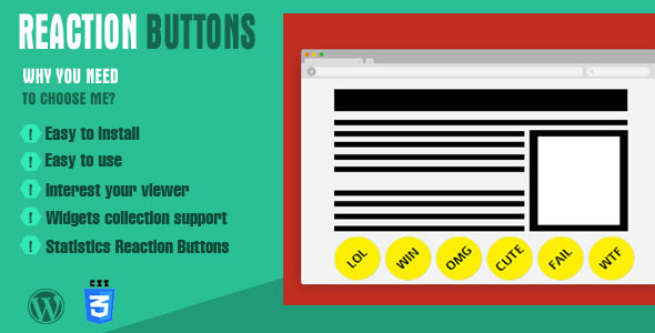 CodeCanyon Reaction Buttons 8231512