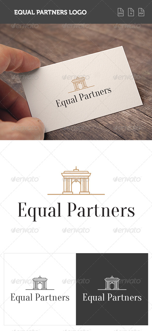 GraphicRiver Equal Partners Logo 8422590