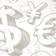 Seamless Background with Hand Drawn Currency Signs - GraphicRiver Item for Sale