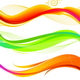 Vector Set or Abstract Colorful Waves - GraphicRiver Item for Sale