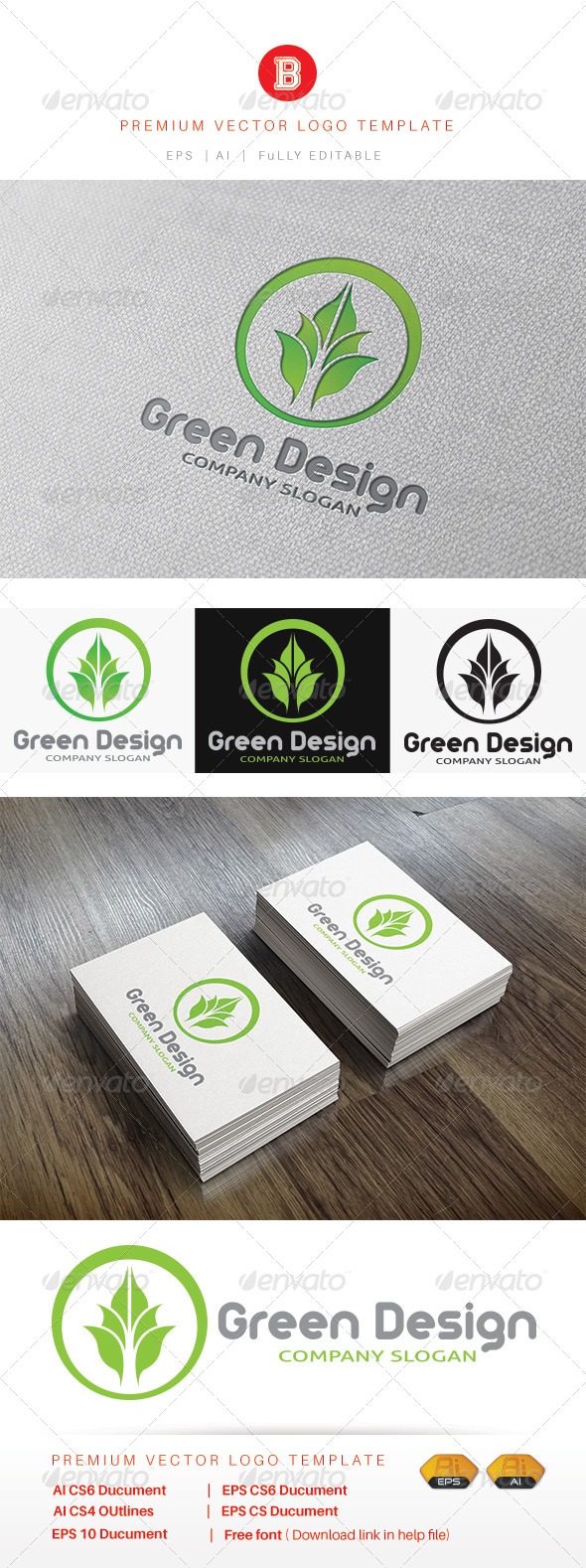 GraphicRiver Green Design 8422903