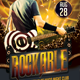 Rockable Flyer Template - GraphicRiver Item for Sale
