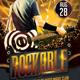 Rockable Flyer Template - GraphicRiver Item for Sale