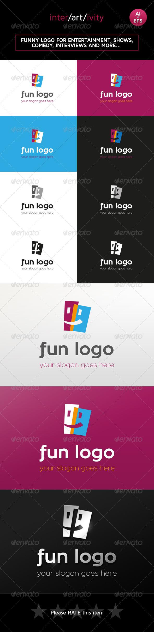 GraphicRiver Fun Logo Template 8423032