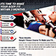Multipurpose Health and Fitness Flyer Template - GraphicRiver Item for Sale