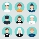 Avatar Flat Icons Set - GraphicRiver Item for Sale