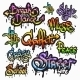 Graffiti Word Set - GraphicRiver Item for Sale