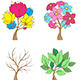Set of Decorative Trees - GraphicRiver Item for Sale