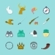 Set of Hunting Icons - GraphicRiver Item for Sale