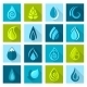 Water Drops Icons - GraphicRiver Item for Sale