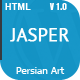 Jasper - Clean Single-Page template
