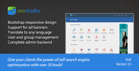 SEO Studio - Tools for Search Engine Optimization - CodeCanyon Item for Sale