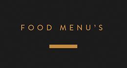 Food Menu's