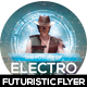 Electro House Flyer Design - GraphicRiver Item for Sale