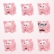 Piggy Bank Emotions - GraphicRiver Item for Sale