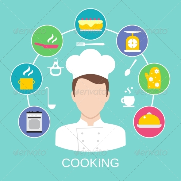GraphicRiver Cooking Concept Poster Print 8423787