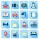 Set of Hotel Icons - GraphicRiver Item for Sale