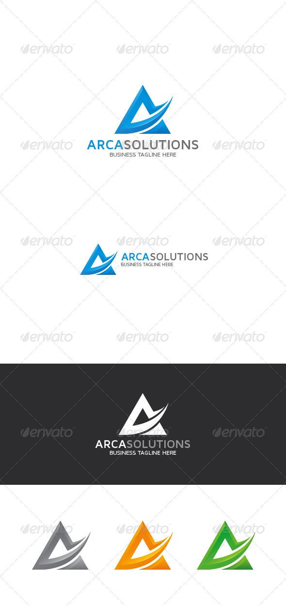 GraphicRiver A Letter Logo 8423828