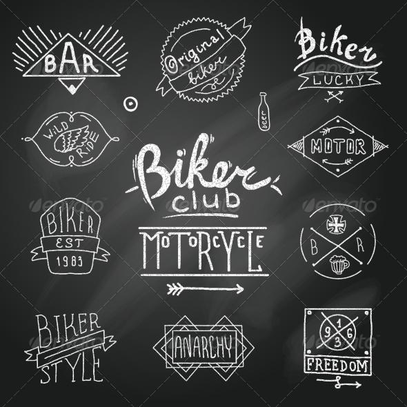 GraphicRiver Riders Label 8423833