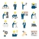 Set of Engineer Icons - GraphicRiver Item for Sale