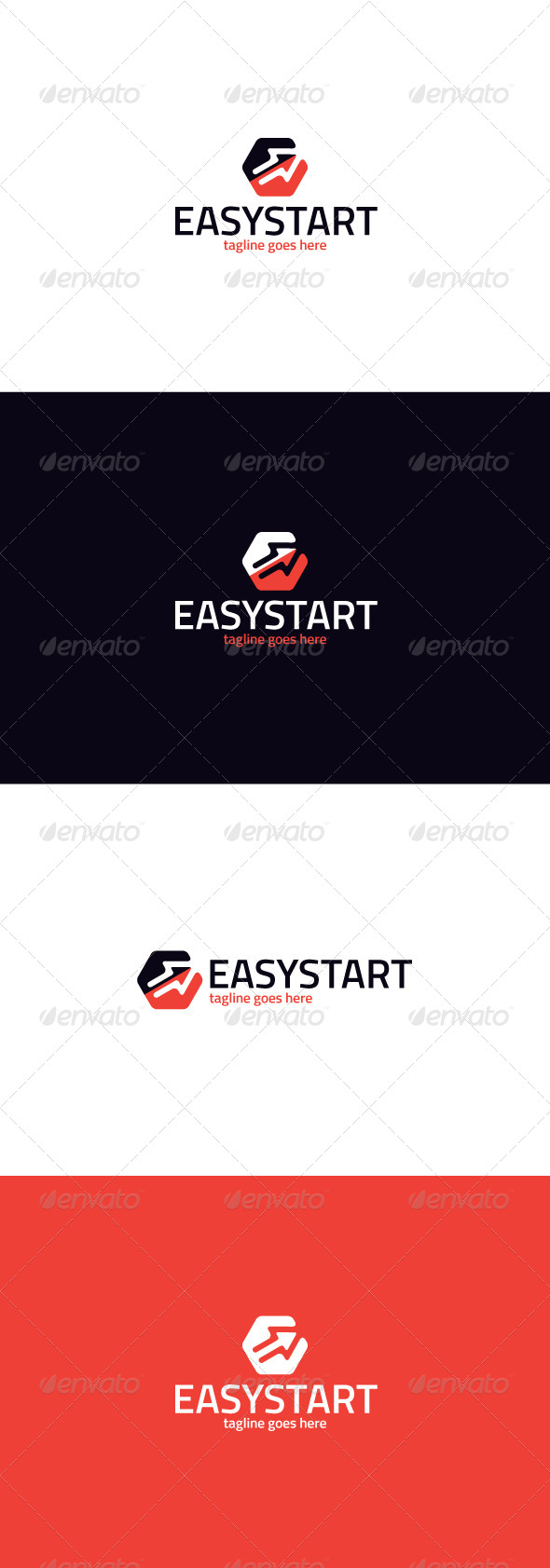 GraphicRiver Easy Start Logo 8423880