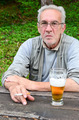 Old man with beer - PhotoDune Item for Sale