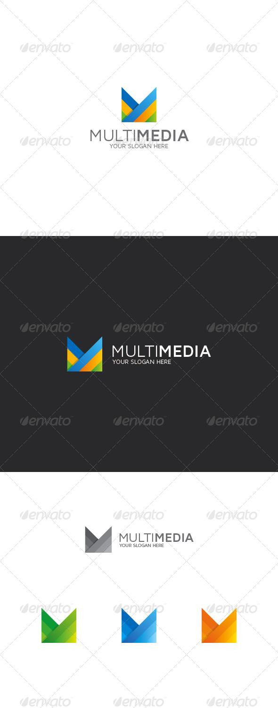 GraphicRiver M Letter Logo 8424157