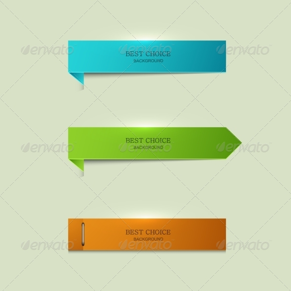 GraphicRiver Modern Bookmarks Element Design 8424158