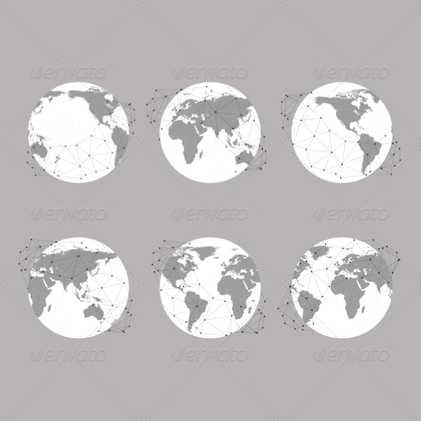 GraphicRiver World Map 8424237