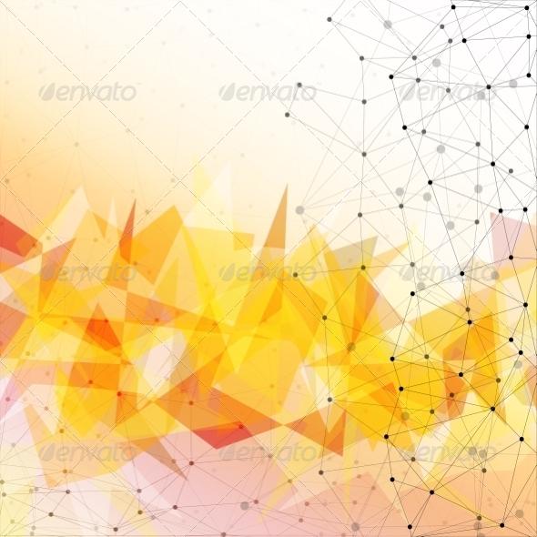 GraphicRiver Triangle Background Design 8424242