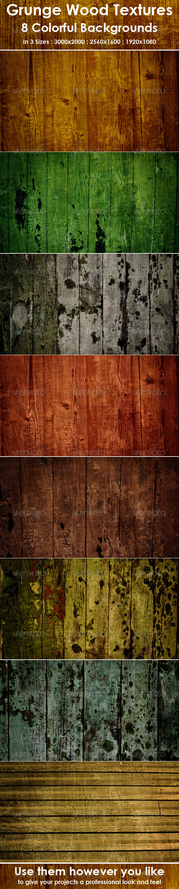 GraphicRiver Wood Textures Backgrounds 8424258