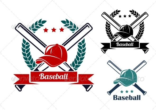 GraphicRiver Baseball Symbols 8426607