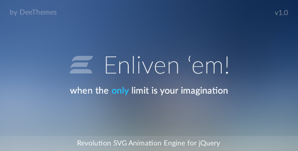 CodeCanyon Enliven em Animation Engine for Vector Graphic 8426850