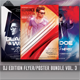 Guest DJ Party Flyer/Poster Bundle Vol.3 - GraphicRiver Item for Sale