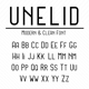 Unelid Sans Serif - GraphicRiver Item for Sale